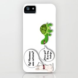 graphic humor 1 iPhone Case
