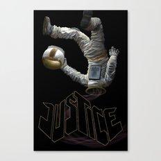 Justice-Planisphere Canvas Print