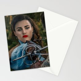 lena luthor -musketeer Stationery Cards