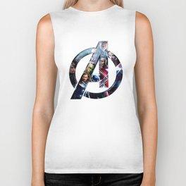 The Avengers 2 Biker Tank