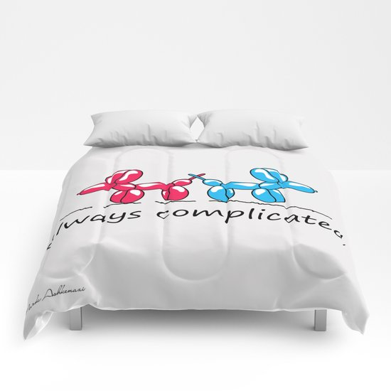 dogs cute Comforters