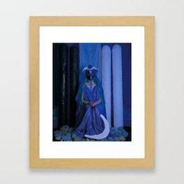 The Priestess Framed Art Print