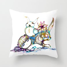 cool kid 4 Throw Pillow