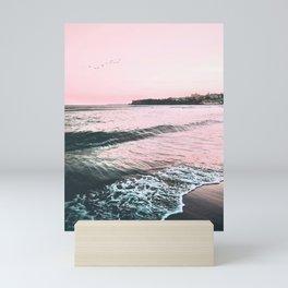 Sea Waves Photo Mini Art Print