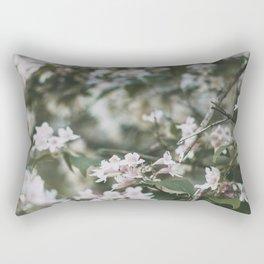 Pink Belles, III Rectangular Pillow