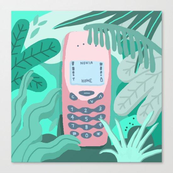 Jungle Nokia  Canvas Print