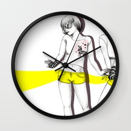 Twopose Wall Clock