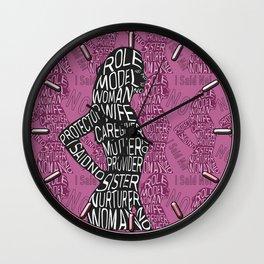 She Said No Wall Clock
