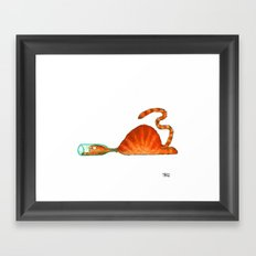 Bottle Framed Art Print