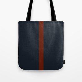 vermilion line Tote Bag