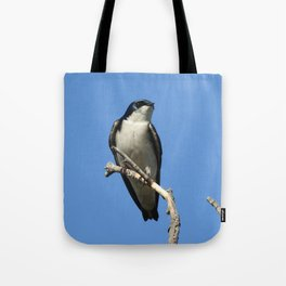 Male Tree Swallow Tote Bag