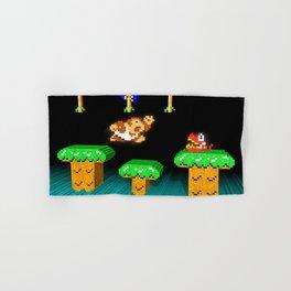Inside Donkey Kong Junior Hand & Bath Towel