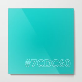 #7CDC60 [hashtag color] Metal Print