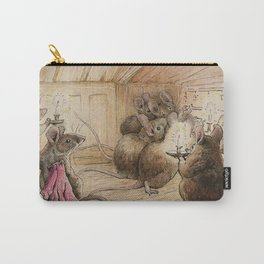 Cute little mice gather around Carry-All Pouch