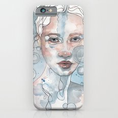 Meditation II, watercolor artwork iPhone 6s Slim Case