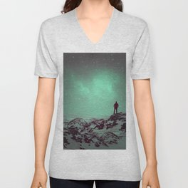 Lost the Moon While Counting Stars II Unisex V-Neck