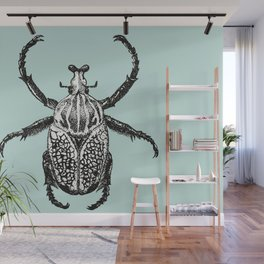 Goliath Beetle Drawing Wall Mural