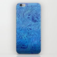 Le Grand Bleu iPhone & iPod Skin