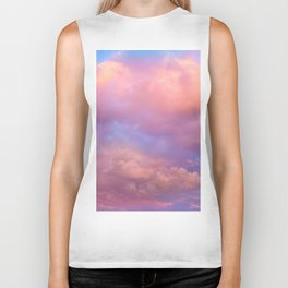 See the Dawn (Dawn Clouds Abstract) Biker Tank