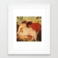 berserk Framed Art Prints featuring Peace by Marta Milczarek