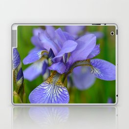 Siberian Iris by Teresa Thompson Laptop & iPad Skin