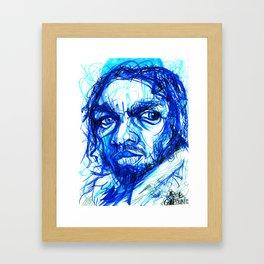 "Kendrick Lamar - ""Premeditated"" Framed Art Print"