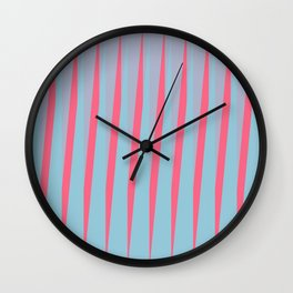 Vertical Slant Wall Clock