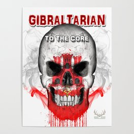 To The Core Collection: Gibraltar Poster