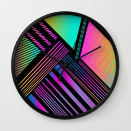 Exo Prism Wall Clock