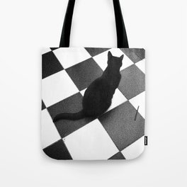 The Ca-t-ile Tote Bag