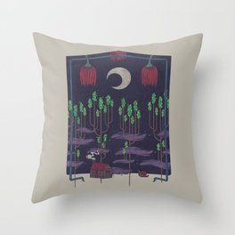 Vacation Home Throw Pillow