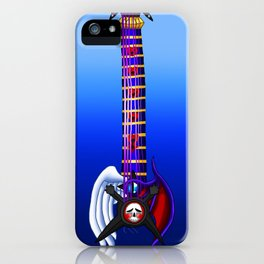 Fusion Keyblade Guitar #171 - Skull Noise & Way to the Dawn iPhone Case