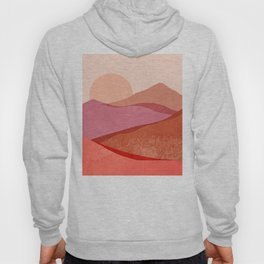 Abstraction_SUNSET_Mountains_Landscape_Minimalism_001 Hoody