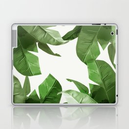 Tropical Palm Print Treetop Greenery Laptop & iPad Skin