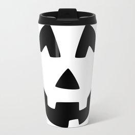 Cute Jack O'Lantern Face Travel Mug
