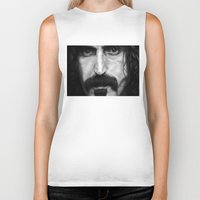 frank Biker Tanks featuring Frank by ClaM