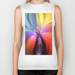 Abstract Composition 510 Biker Tank