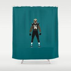 Stand United - Justin Blackmon Shower Curtain