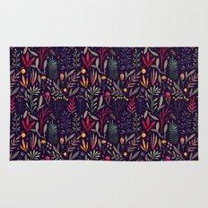 Botanical pattern Rug