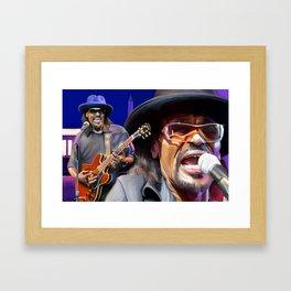 The Godfather of Go-Go Framed Art Print