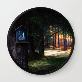 Magical Forest (Color) Wall Clock