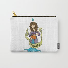 Aquarius - The Water Bearer Carry-All Pouch