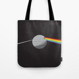 The Darth Side of the Moon: Episode IV Alderaan Tote Bag
