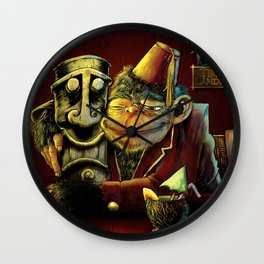 Last Call At Tikilandia Wall Clock
