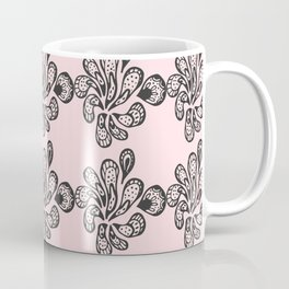 Soft pink ornament Coffee Mug