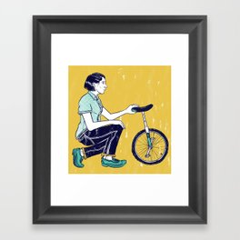 Going Solo... Framed Art Print
