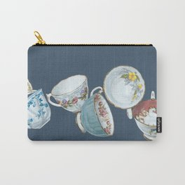 Dancing Queens in Navy Carry-All Pouch