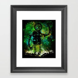 Mad Robot Framed Art Print