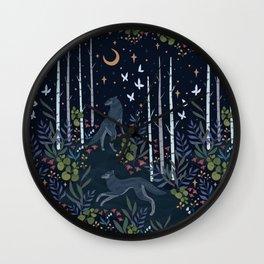 Midnight Exploration Wall Clock