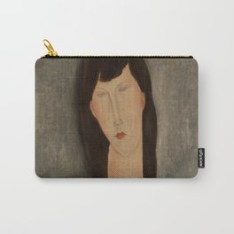 "Amedeo Modigliani ""Bust of a Woman"" Carry-All Pouch"